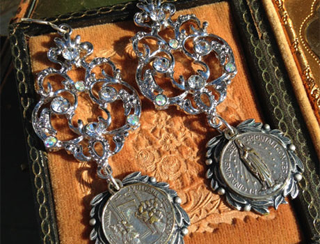 Antique Assemblage Jewelry