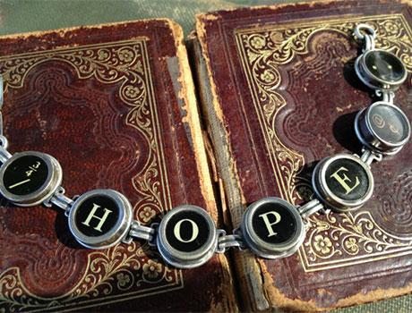 Typewriter Key Jewelry